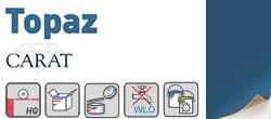 Topaz Carat Label